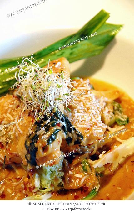 Thai, coconut, curry