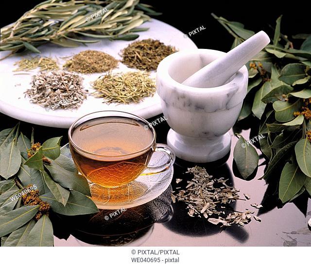 Herbal tea, infusion