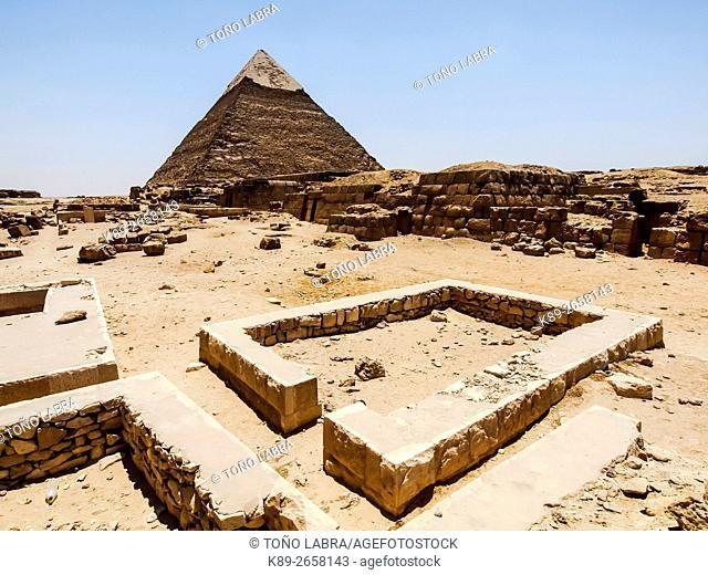 Giza Pyramids. Cairo. Egypt