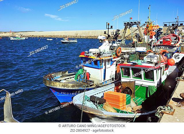 The fishing port. Sagres, Portugal