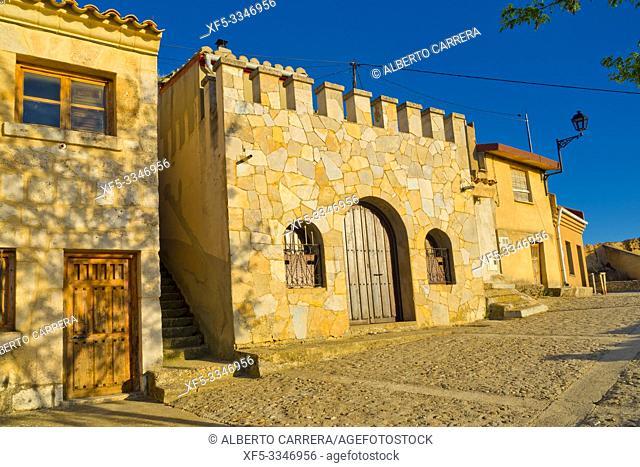 Cave Traditional Wineries, Ribera del Duero, San Esteban de Gormaz, Soria, Castilla y León, Spain, Europe