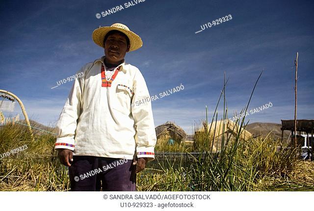 Lago Titicaca  Reserva Nacional del Titicaca  Islas Uros  Isla de san Miguel  Perú