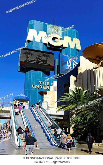 MGM Casino Las Vegas Nevada Sin City Gambling Capital NV