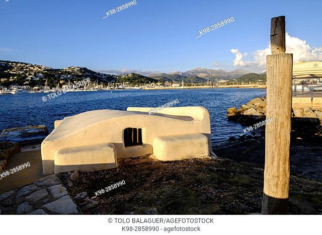 varadero tradicional -Escar-, puerto de Andratx, Mallorca, balearic islands, spain, europe