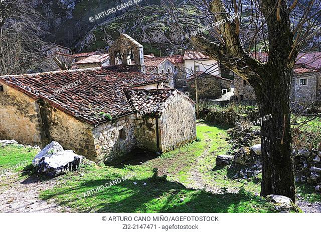 Bulnes, Picos de Europa National Park. Asturias, Spain