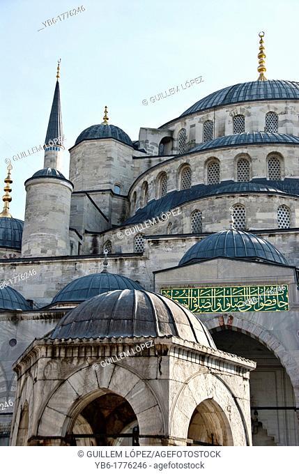 Blue Mosuqe, Itsnabul, Turkey