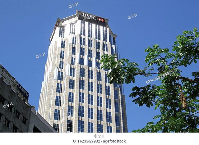 HSBC building at Ayala Avenue, Makati, Philippines