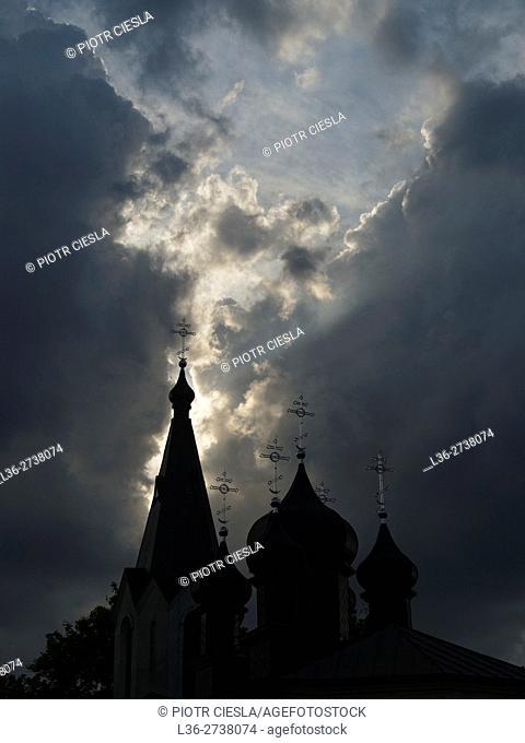 Mielnik, Eastern Poland - The Orthodox Church
