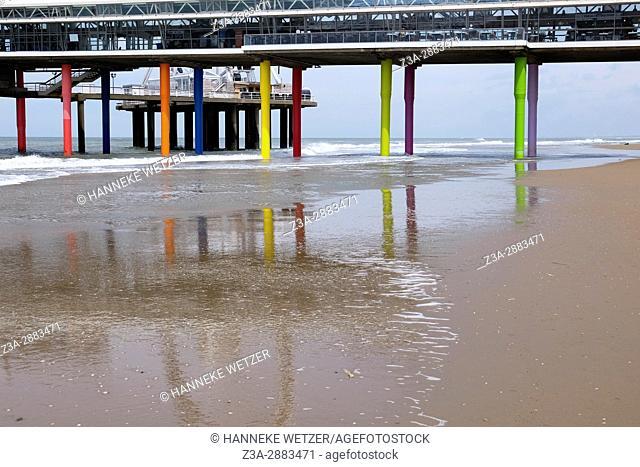 The pier of Scheveningen, The Hague, The Netherlands, Europe