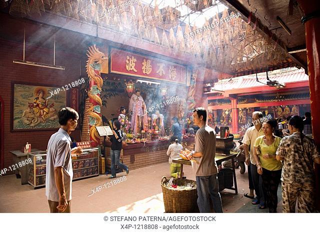 Quan Am Pagoda, founded in 1816 by the Fujian Chinese congregation, Saigon, Vietnam