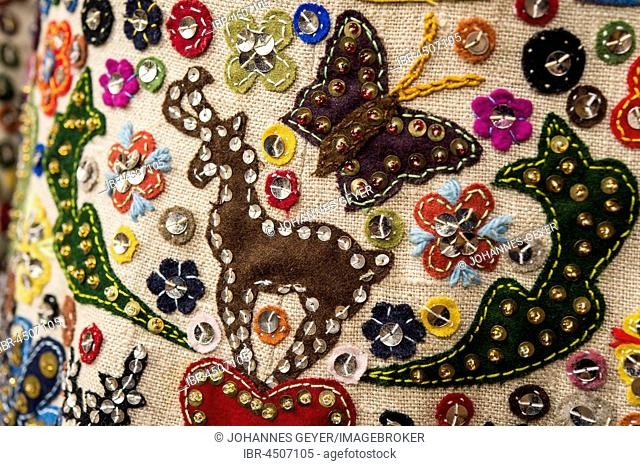 Ausseer Flinserl, costume, sequins, different appliqué designs, Bad Aussee, Styria, Austria