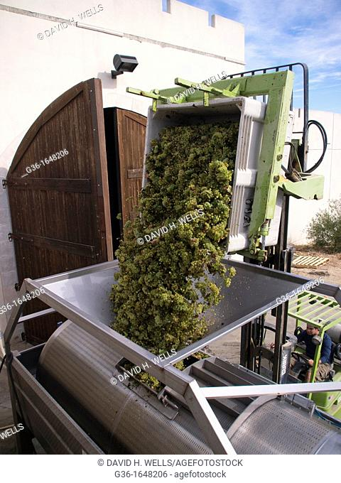 Equipment used for producing wine in Paso Robles  California, United states