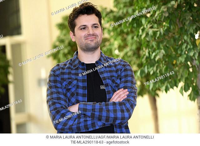 Frank Matano during the photocall of film Sono tornato, Rome, ITALY-29-01-2018