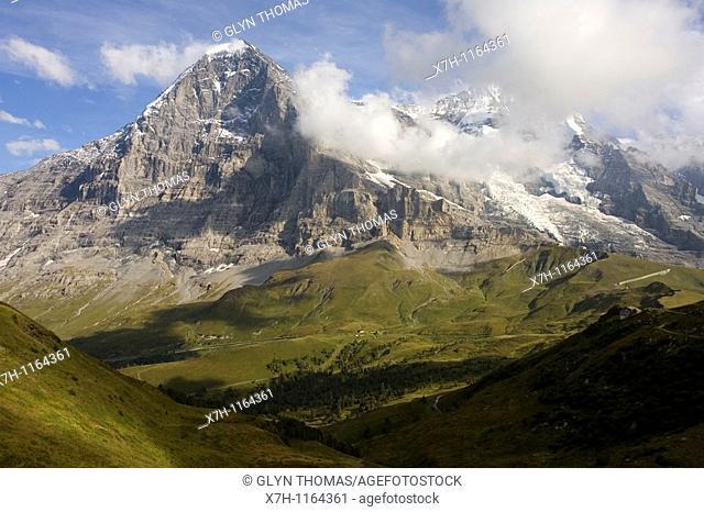 North face of the Eiger, Kleine Scheidegg, Switzerland