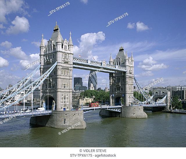England, United Kingdom, Great Britain, Holiday, Landmark, London, Thames river, Tourism, Tower bridge, Travel, Vacation
