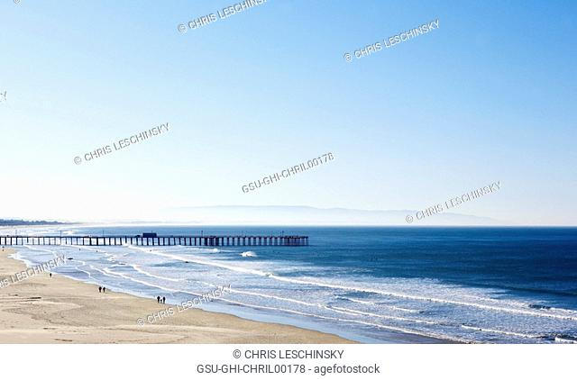 pismo beach, piers, california