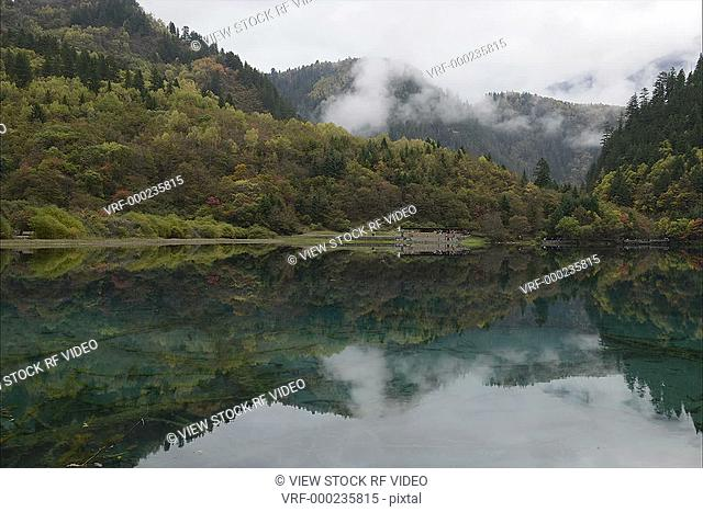 video of Jiuzhaigou Valley