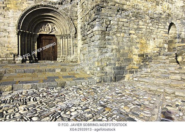 Nuestra Señora de Baldós Romanesque Church. Montañana. Ribagorza. Huesca Province. Aragón. Spain