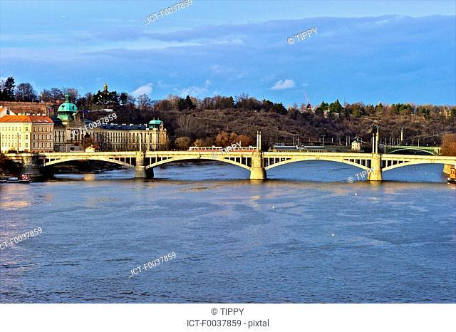 Czech Republic, Prague, Manesuv bridge