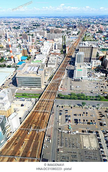 View from JR Tower, Sapporo, Hokkaido