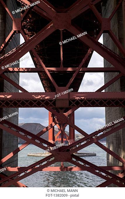Architectural detail of Golden Gate Bridge