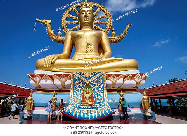 Wat Phra Yai (Temple of the Big Buddha), Ko Samui, Thailand
