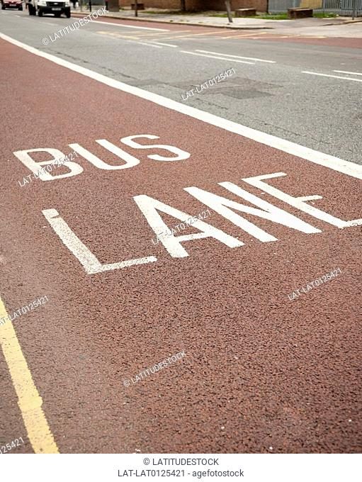 Bus lanes form an important part of London's public transport system,helping to ease congestion and facilitate a faster service for passengers