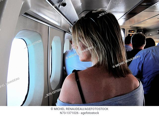 Indian Ocean, Maldives, South Ari Atoll, Dhidhoofinolhu, Diva Resort, Naiad, aerial vie