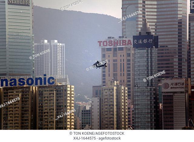 hirise buildings in Hongkong, China