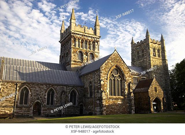 Wimborne Minster Church known as the Minster is Norman and has existed for over 1300 years and is the parish Church of Wimborne Minster Dorset