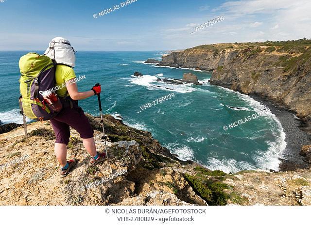 Trekking in Parque Natural SW Alentejano and Costa Vicentina, Algarve, Portugal