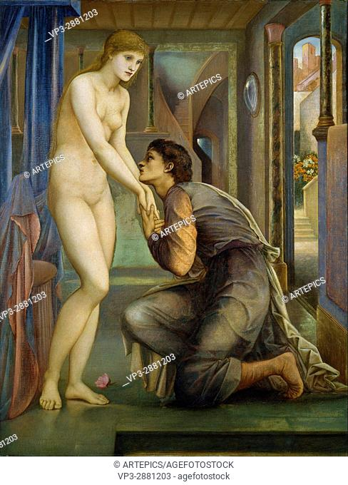Edward Burne-Jones - Pygmalion and the Image - The Soul Attains - Birmingham Museum and Art Gallery