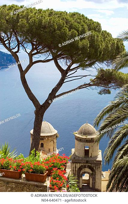 Villa Rufolo. Ravello. Amalfi coast. Campania. Italy