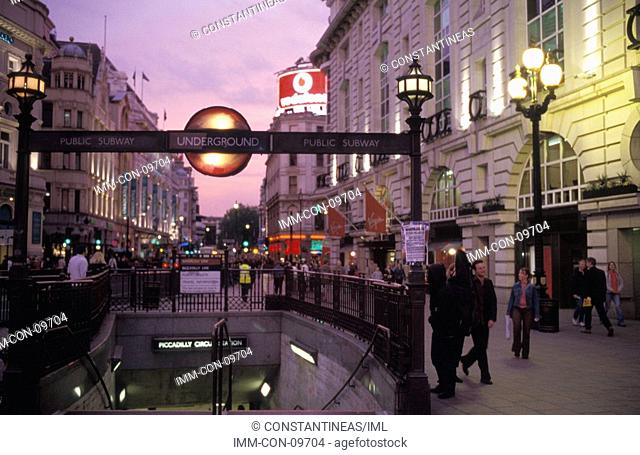 Piccadilly Circus, London, England, Great Britain, Europe