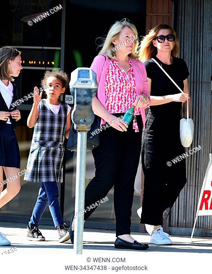 Ellen Pompeo and daughter Stella Luna Pompeo Ivery go on a play date with friends Featuring: Ellen Pompeo, Stella Luna Pompeo Ivery Where: Los Angeles