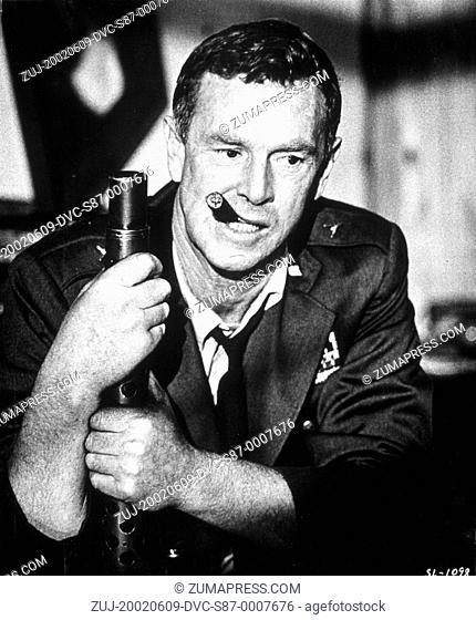 1964, Film Title: DR. STRANGELOVE, Director: STANLEY KUBRICK, Studio: COLUMBIA, Pictured: STERLING HAYDEN. (Credit Image: SNAP/ZUMAPRESS.com)