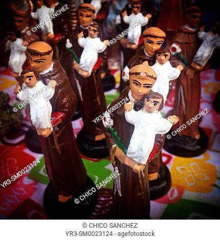 Images of Saint Anthony of Padua for sale in Mexico City, Mexico