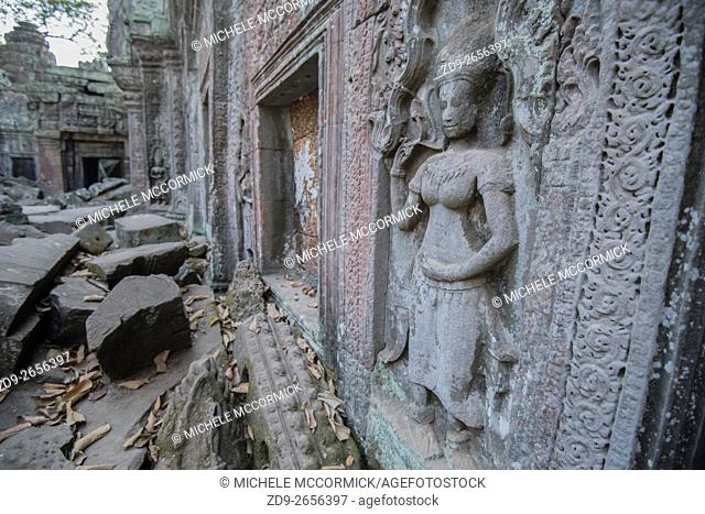 Ta Prohm is one of Angkor's most visited temples