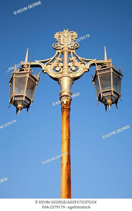 Lamppost in Brighton, England, UK