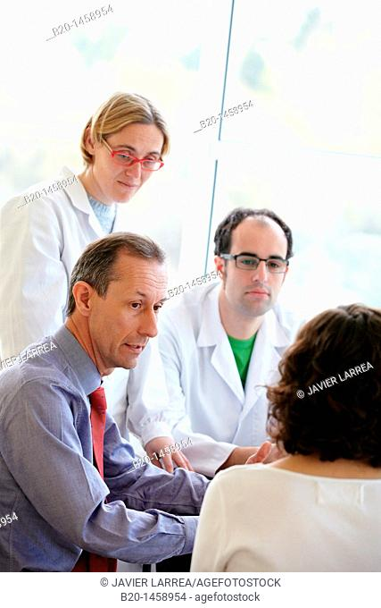 Meeting room, research lab, IkerChem research lab, design and synthesis of new chemical entities with therapeutic applications in oncology