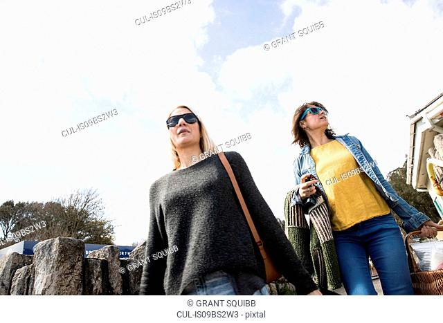 Sisters on outing