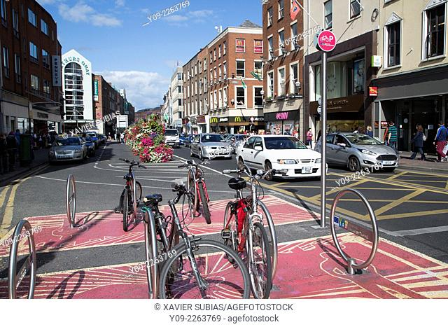 O`Connell street, Limerick, Munster province, Ireland