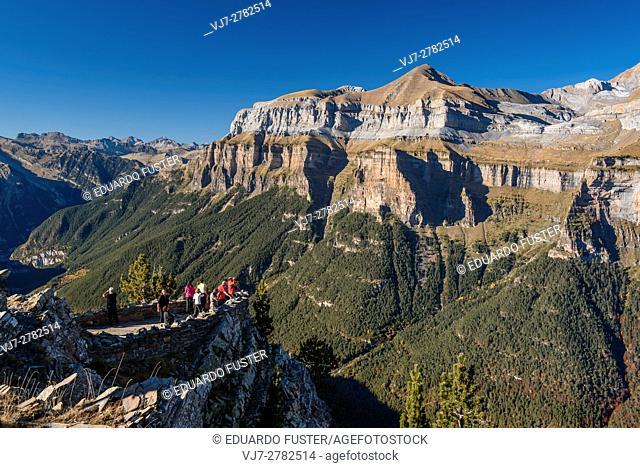 Balcony of Ordesa & Monte Perdido in the Spanish Pyrinees (Huesca, Spain)
