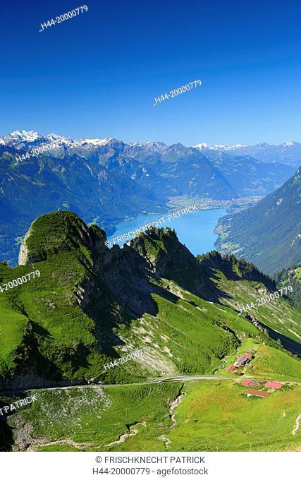 Brienzer Rothorn mountain, Bernese Oberland, Switzerland