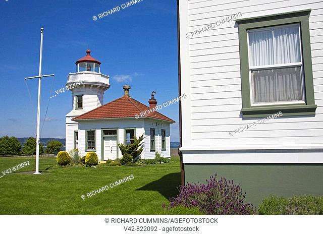Mukilteo Lighthouse Park, Mukilteo, Greater Seattle Area, Washington State, USA