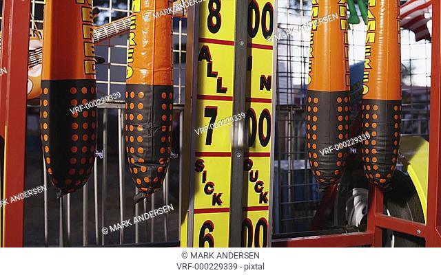 MS TU Fairground strength tester / American Fork City, Utah, USA