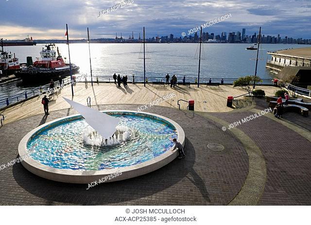 North Vancouver's Lonsdale Quay pier