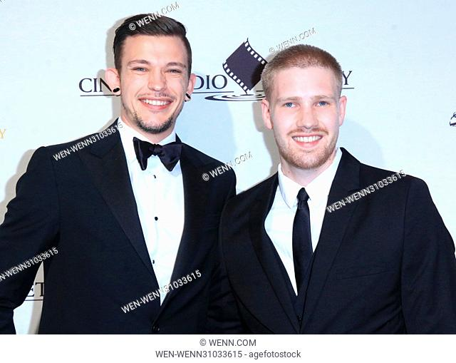 53rd Annual Cinema Audio Society (CAS) Awards at Omni Los Angeles Hotel at California Plaza - Arrivals Featuring: Matt Yocum, Sammy Duff Where: Los Angeles