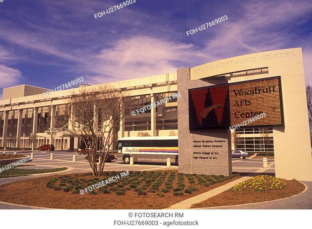 Atlanta, GA, Georgia, Robert W. Woodruff Arts Center