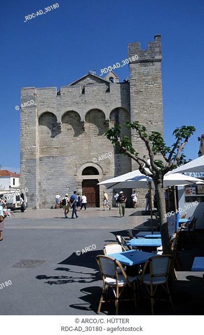 Church Saintes-Maries-de-la-Mer Camargue Southern France